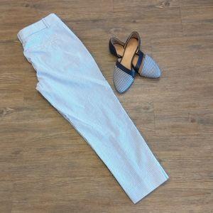 Blue and white slacks - BG013
